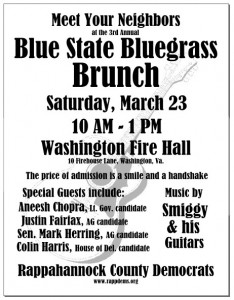 Blue State Bluegrass Brunch 2013