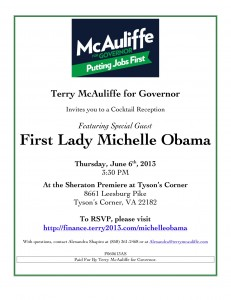 6_6_13-FLOTUS-McAuliffe-General-Invite