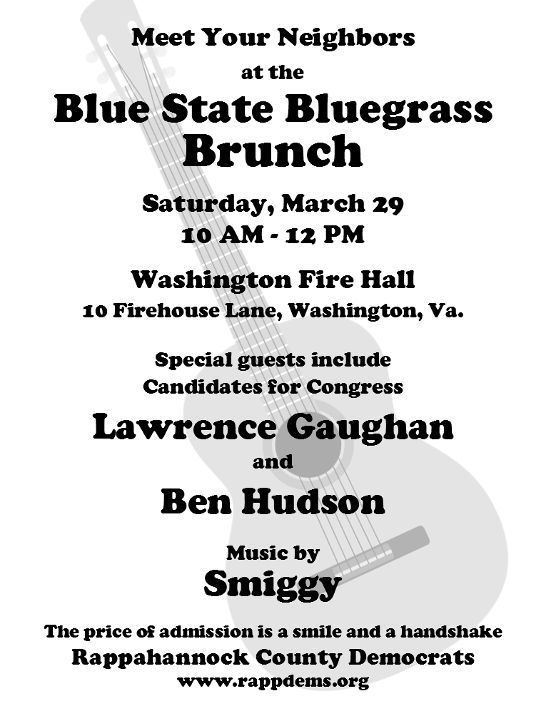 Blue State Bluegrass Brunch