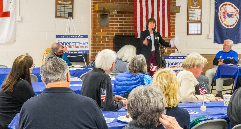 Jane Dittmar, candidate 5th CD special guest -Rappahannock Co Democratic Committee
